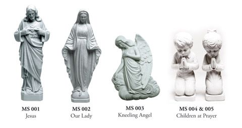 marble resin statues